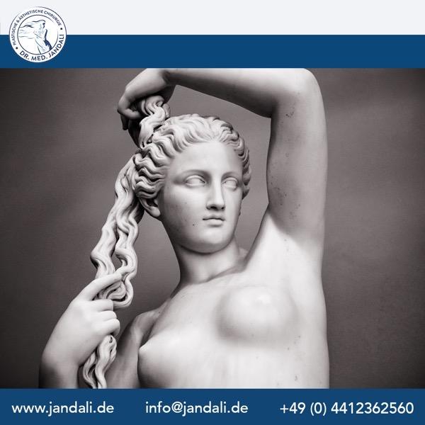 Statue brust
